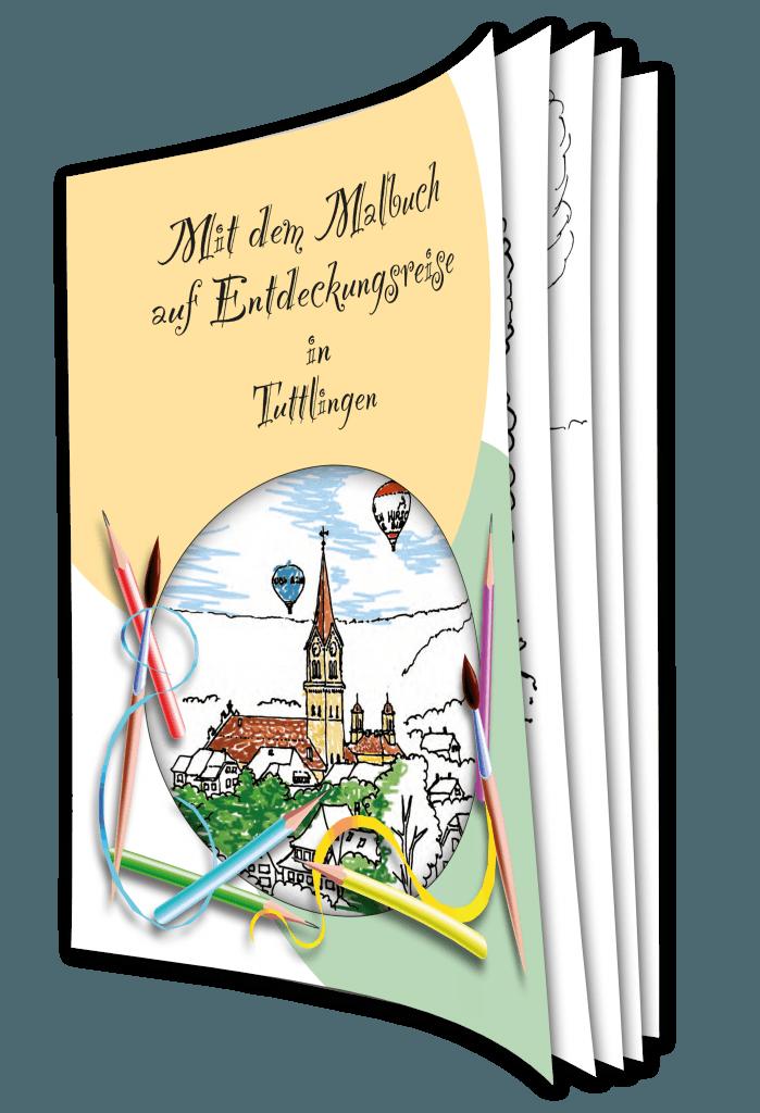 Das Tuttlinger Malbuch – die malerischen Seiten der Stadt.