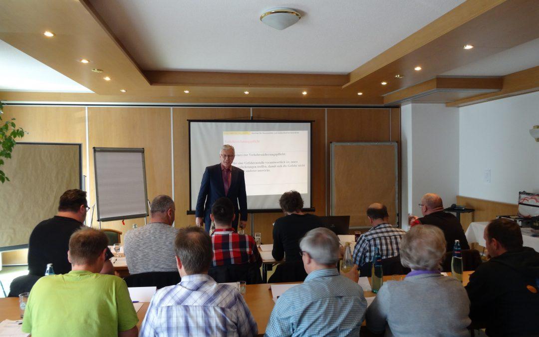 Seminarveranstaltung von Herrn Georg Zindeler