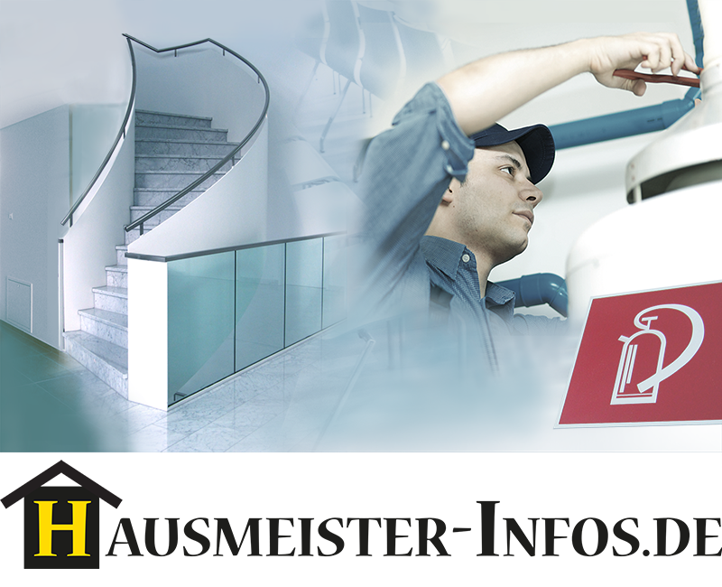 Informationsbild der Internetseite Hausmeister-Infos.de Die Internetseite berichtet über Themen rund um die Bewirtschaftung von Gebäuden sowie deren technische Anlagen und Einrichtungen im Facilitymanagement.