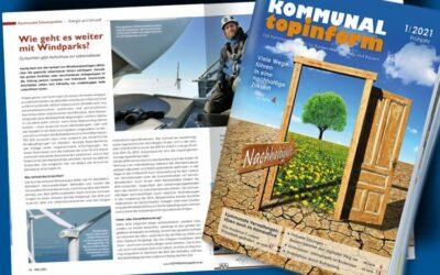 Großes Thema: Nachhaltigkeit in der Märzausgabe 2021